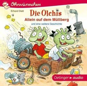 Die Olchis - Allein auf dem Müllberg, Audio-CD