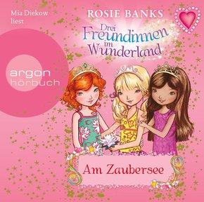 Drei Freundinnen im Wunderland. Am Zaubersee, 1 Audio-CD
