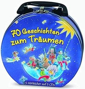 70 Geschichten zum Träumen - Mein Hörbuch-Koffer (70 Geschichten auf 5 CDs)