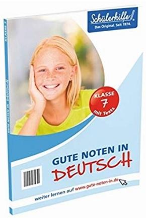 Schülerhilfe - Gute Noten in Deutsch - Klasse 7