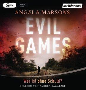 Evil Games - Wer ist ohne Schuld?, 1 MP3-CD