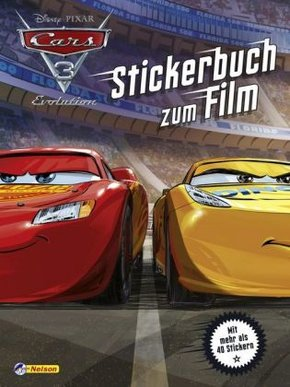Disney Cars 3 : Stickerbuch zum Film