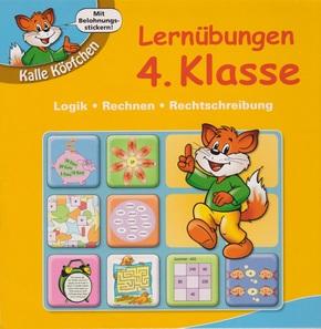 Lernübungen 4. Klasse - Lernblock