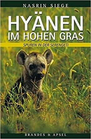 Hyänen im hohen Gras