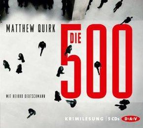 Die 500, 5 Audio-CDs