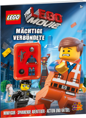 The LEGO® Movie. Mächtige Verbündete (+ Mini-Figur Polizist)