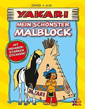 Yakari: Mein schönster Malblock