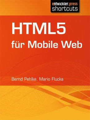 HTML5 für Mobile Web (eBook, ePUB)