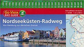 Nordseeküsten-Radweg - Fahrradführer mit Karten