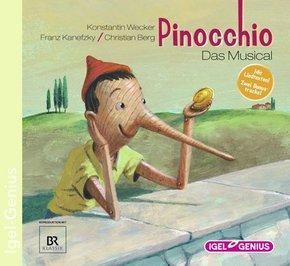 Pinocchio, Das Musical, Audio-CD