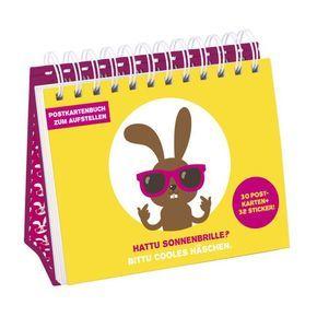 Hattu Sonnenbrille? - Postkartenbuch (30 Postkarten)
