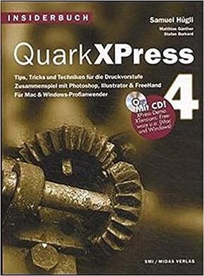 Quark XPress 4, m. CD-ROM