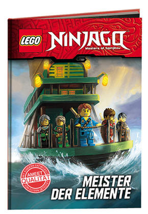 LEGO® NINJAGO™ - Die Meister der Elemente, Lesebuch