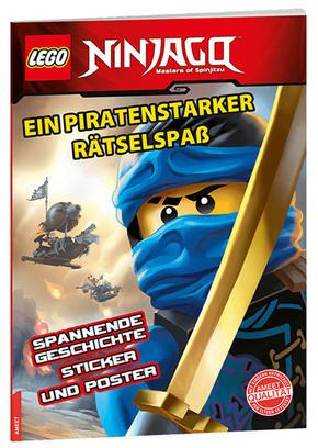 LEGO® NINJAGO™ - Ein piratenstarker Rätselspaß, mit Poster und Stickern