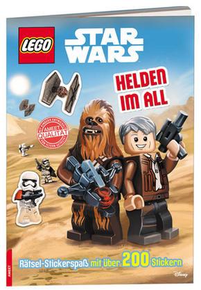 LEGO® Star Wars™ - Helden im All - Rätsel-Stickerspaß mit über 200 Stickern