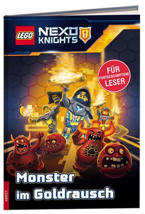 LEGO® NEXO KNIGHTS™ - Monster im Goldrausch, Lesebuch für fortgeschrittene Leser