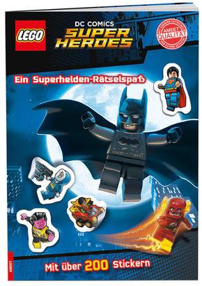 LEGO® DC Comics Superhelden - Ein Superhelden-Rätselspaß (Mit über 200 Stickern)