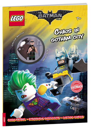 LEGO® DC Comics Superhelden - Chaos in Gotham City (Mit Batman Minifigur)