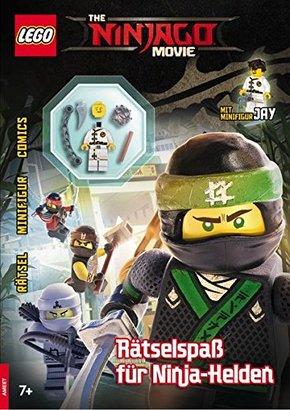 LEGO® - The NINJAGO® Movie - Rätselspaß für Ninja-Helden (Mit Minifigur Jay)