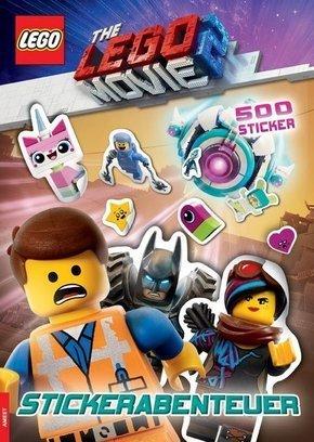 LEGO® The LEGO Movie 2(TM) Stickerabenteuer mit 500 Sticker