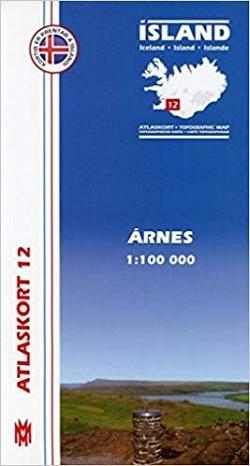 Atlaskort 12: Arnes 1:100.000 (engl. Ausgabe)