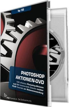 Photoshop Aktionen-DVD - Top 100 Aktionen für Photoshop inkl. Video-Training