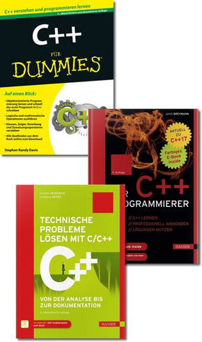 C++ Programmierung Paket (3 Bücher)