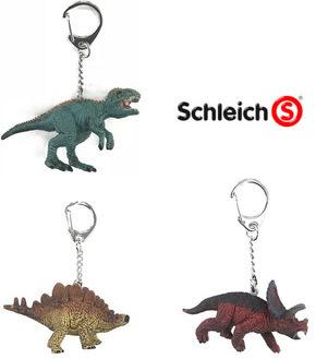 Schleich Paket - Dinosaurier Schlüsselanhänger (3 Figuren)