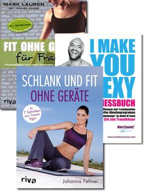 Fitness-Paket für Frauen (3 Bücher)