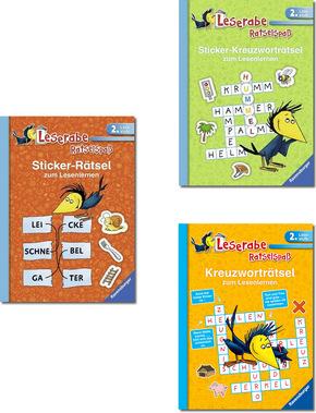 2. Lesestufe Ravensburger Paket - Leserabe Rätselspaß (3 Bücher)