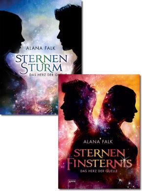 Das Herz der Quellen - Sternensturm & Sternenfinsternis (2 Bücher)