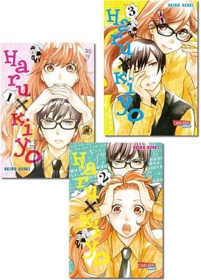 Manga-Paket - Haru x Kiyo (Band 1-3)