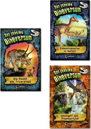 Das geheime Dinoversum - Dinosaurier-Abenteuer Kinderbuch-Paket (3 Bücher)