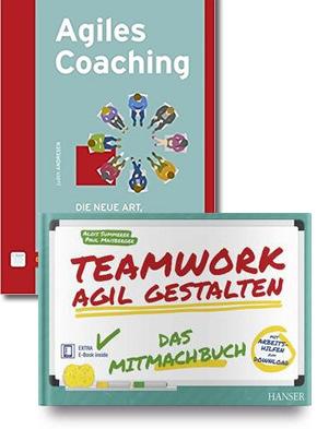 Agiles Teamwork / Projektmanagement - Buchpaket (2 Bücher)