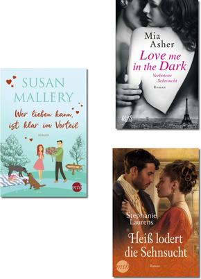 Liebesromane Paket - (3 Bücher)