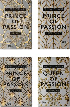 Prince of Passion - Die komplette Trilogie (3 Bücher)