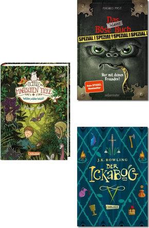 Kinderbücher ab 8 Jahren - Bestseller-Paket (3 Bücher)