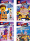 The LEGO® Movie 2 Paket - 4 Bücher (inklusive Mini-Figur und Mini-Bauset)