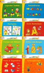 Lernraupe Paket - Rätselminis (8 Hefte)
