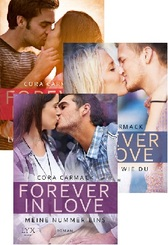 Cora Carmack Buchpaket - Forever in Love (Band 1-3)
