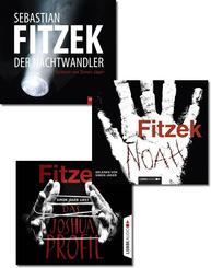 Sebastian Fitzek Hörbucher - Bestseller-Paket (3 Hörbücher, 16 Audio-CDs)
