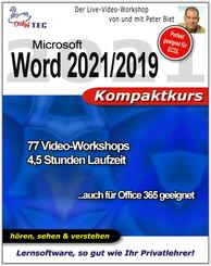 Microsoft Word 2019/365 Kompaktkurs (DOWNLOAD)