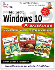 Windows 10 Praxiskurse - Sparpaket (3 Video-Trainings in einem)