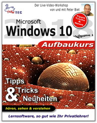 Microsoft Windows 10 Aufbaukurs - Tipps, Tricks & Neuheiten (DOWNLOAD)