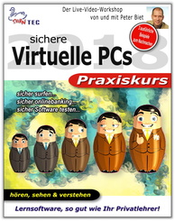 Virtuelle PCs Praxiskurs - Sicher surfen, Onlinebanking, Software testen