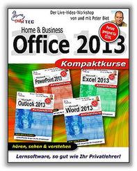 Home & Business Office 2013 - Kompaktkurs - Video-Training (DOWNLOAD)