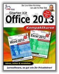 Starter Kit Office 2013 -  Kompaktkurs - Video-Training (DOWNLOAD)