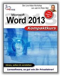 Word 2013 Kompaktkurs - Video-Training (DOWNLOAD)