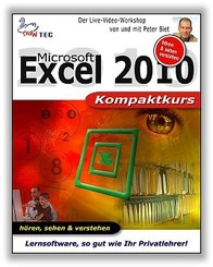 Excel 2010 Kompaktkurs - Video-Training (DOWNLOAD)