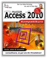 Access 2010 Kompaktkurs - Video-Training (DOWNLOAD)